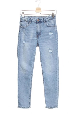 Детски дънки H&M, Размер 14-15y/ 168-170 см, Цвят Син, 99% памук, 1% еластан, Цена 21,95лв.