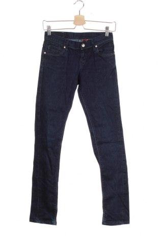 Детски дънки Levi's, Размер 12-13y/ 158-164 см, Цвят Син, 99% памук, 1% еластан, Цена 48,30лв.