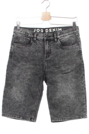 Детски къс панталон, Размер 12-13y/ 158-164 см, Цвят Сив, 66% памук, 34% полиестер, Цена 14,70лв.