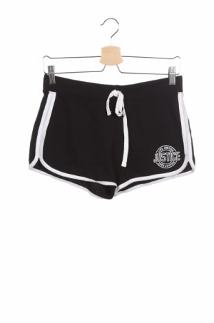 Детски къс панталон, Размер 15-18y/ 170-176 см, Цвят Черен, 60% памук, 40% полиестер, Цена 12,97лв.