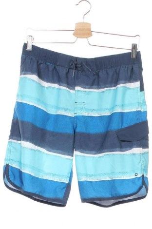 Детски къс панталон Adidas, Размер 15-18y/ 170-176 см, Цвят Син, Полиестер, Цена 26,25лв.