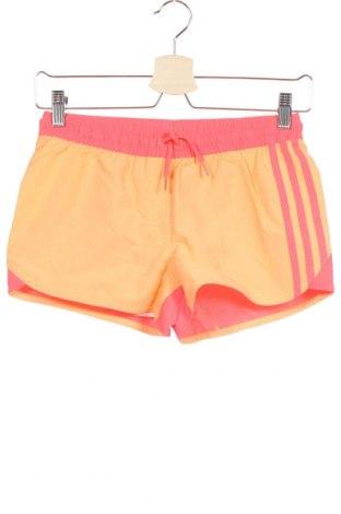 Παιδικό κοντό παντελόνι Adidas, Μέγεθος 11-12y/ 152-158 εκ., Χρώμα Ρόζ , Πολυεστέρας, Τιμή 17,68€