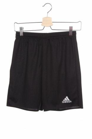 Детски къс панталон Adidas, Размер 13-14y/ 164-168 см, Цвят Черен, Полиестер, Цена 26,25лв.