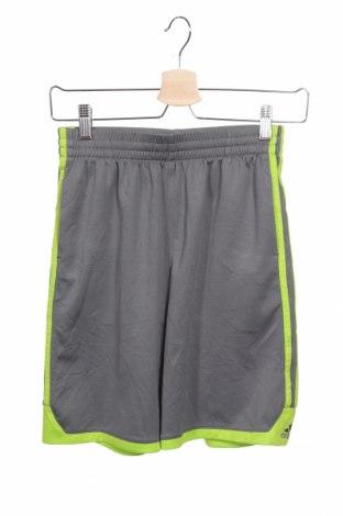 Детски къс панталон Adidas, Размер 10-11y/ 146-152 см, Цвят Сив, Полиестер, Цена 27,30лв.
