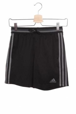 Детски къс панталон Adidas, Размер 11-12y/ 152-158 см, Цвят Черен, Полиестер, Цена 27,30лв.