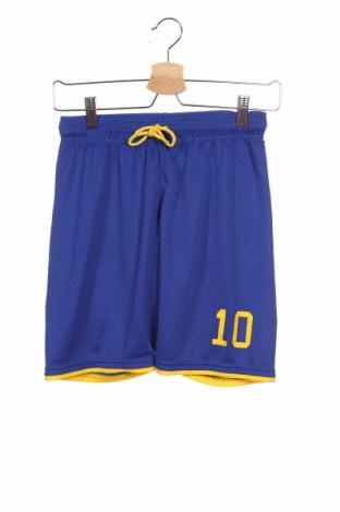 Детски къс панталон H&M Sport, Размер 10-11y/ 146-152 см, Цвят Син, Полиестер, Цена 15,96лв.