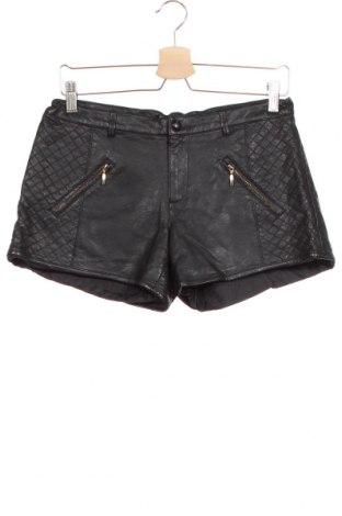Детски къс панталон Mayoral, Размер 13-14y/ 164-168 см, Цвят Черен, Еко кожа, Цена 31,92лв.