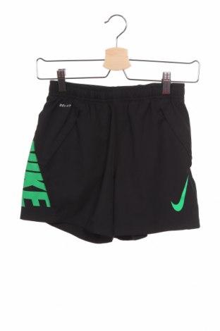 Детски къс панталон Nike, Размер 7-8y/ 128-134 см, Цвят Черен, Полиестер, Цена 25,94лв.