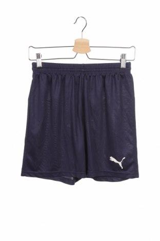 Детски къс панталон PUMA, Размер 15-18y/ 170-176 см, Цвят Син, 100% полиестер, Цена 27,30лв.
