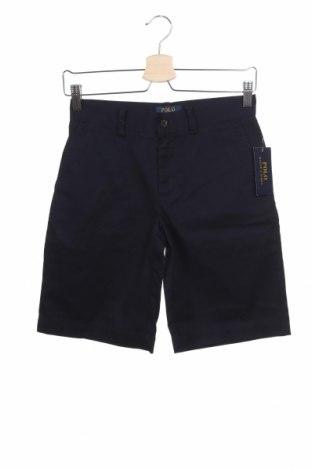 Детски къс панталон Polo By Ralph Lauren, Размер 11-12y/ 152-158 см, Цвят Син, Памук, Цена 51,75лв.