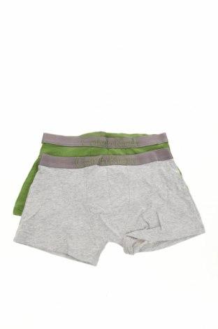 Παιδικό σύνολο Calvin Klein, Μέγεθος 11-12y/ 152-158 εκ., Χρώμα Γκρί, 95% βαμβάκι, 5% ελαστάνη, Τιμή 16,60€