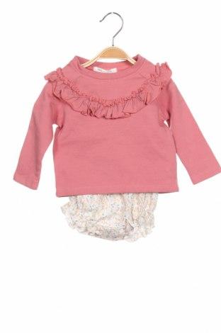 Παιδικό σύνολο Little Celebs, Μέγεθος 9-12m/ 74-80 εκ., Χρώμα Ρόζ , 96% βαμβάκι, 4% ελαστάνη, Τιμή 21,29€