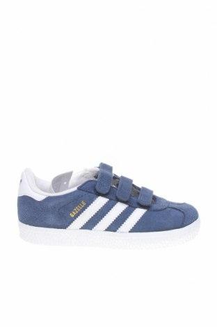 Детски обувки Adidas Originals, Размер 27, Цвят Син, Естествен велур, Цена 74,25лв.