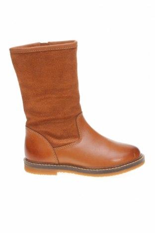 Dětské boty  Friboo, Velikost 25, Barva Hnědá, Pravá kůže, textile , Cena  504,00Kč