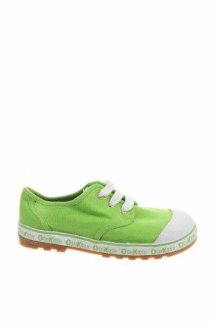 Детски обувки Oshkosh, Размер 33, Цвят Зелен, Текстил, Цена 35,91лв.