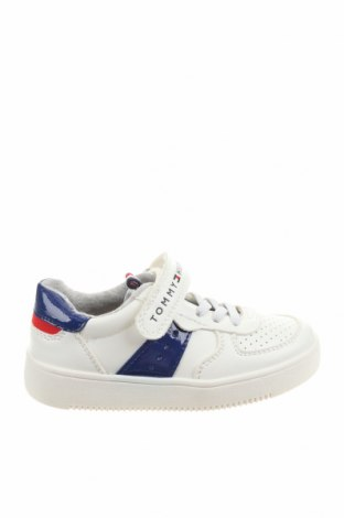 Детски обувки Tommy Hilfiger, Размер 26, Цвят Бял, Еко кожа, Цена 51,17лв.
