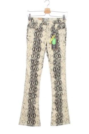 Детски панталон Indian Blue Jeans, Размер 13-14y/ 164-168 см, Цвят Бежов, 97% памук, 3% еластан, Цена 54,60лв.