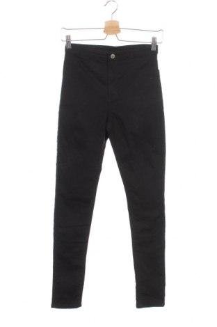 Детски панталон H&M, Размер 12-13y/ 158-164 см, Цвят Черен, 72% памук, 25% полиестер, 3% еластан, Цена 17,85лв.