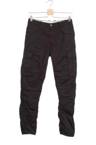 Детски панталон H&M L.O.G.G., Размер 11-12y/ 152-158 см, Цвят Черен, Памук, Цена 28,93лв.