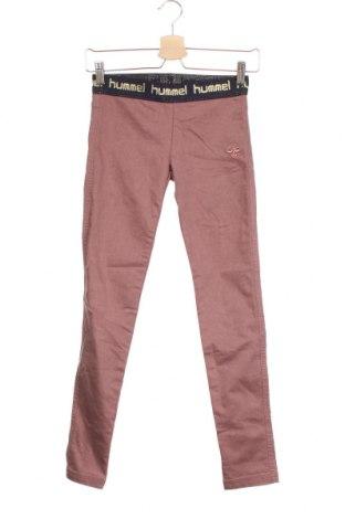 Детски панталон Hummel, Размер 10-11y/ 146-152 см, Цвят Червен, 55% памук, 42% полиестер, 3% еластан, Цена 20,95лв.