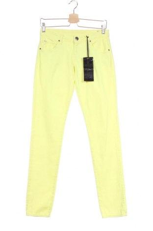 Детски панталон Jill, Размер 15-18y/ 170-176 см, Цвят Жълт, 98% памук, 2% еластан, Цена 39,69лв.