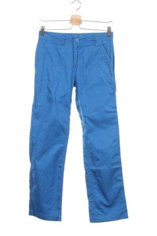 Детски панталон Karstadt, Размер 12-13y/ 158-164 см, Цвят Син, Памук, Цена 18,90лв.