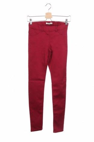 Детски панталон Name It, Размер 12-13y/ 158-164 см, Цвят Червен, 39% вискоза, 38% памук, 21% полиестер, 2% еластан, Цена 39,00лв.