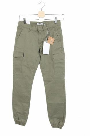 Παιδικό παντελόνι Name It, Μέγεθος 12-13y/ 158-164 εκ., Χρώμα Πράσινο, 98% βαμβάκι, 2% ελαστάνη, Τιμή 19,77€