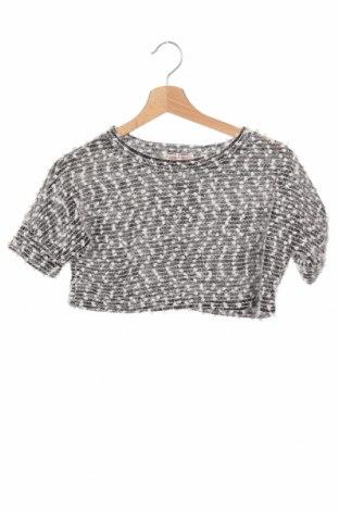 Детски пуловер, Размер 15-18y/ 170-176 см, Цвят Бял, 50% памук, 50% полиестер, Цена 9,24лв.