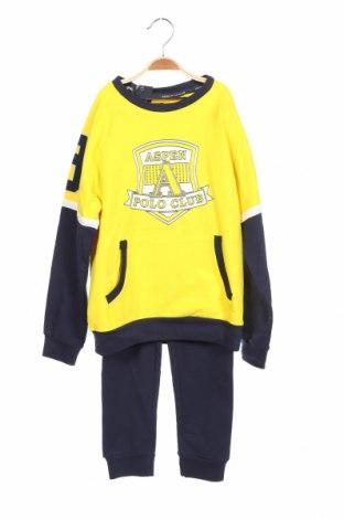 Set de sport pentru copii Aspen Polo Club, Mărime 7-8y/ 128-134 cm, Culoare Albastru, 95% bumbac, 5% elastan, Preț 158,88 Lei