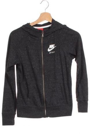 Dětská mikina  Nike, Velikost 9-10y/ 140-146 cm, Barva Šedá, 60% bavlna, 40% polyester, Cena  515,00Kč