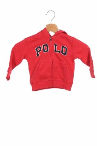 Παιδικό φούτερ Ralph Lauren, Μέγεθος 9-12m/ 74-80 εκ., Χρώμα Κόκκινο, 83% βαμβάκι, 17% πολυεστέρας, Τιμή 29,59€