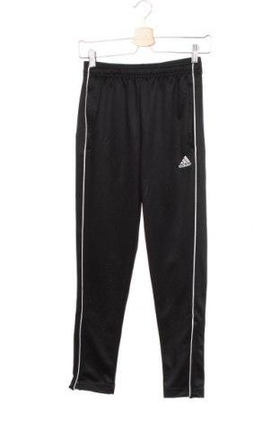 Dětské tepláky Adidas, Velikost 11-12y/ 152-158 cm, Barva Černá, Polyester, Cena  383,00Kč