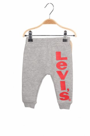 Παιδική κάτω φόρμα Levi's, Μέγεθος 1-2m/ 50-56 εκ., Χρώμα Γκρί, 60% βαμβάκι, 40% πολυεστέρας, Τιμή 22,81€