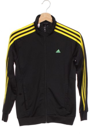 Dětská horní část sportovní soupravy Adidas, Velikost 10-11y/ 146-152 cm, Barva Černá, Polyester, Cena  424,00Kč