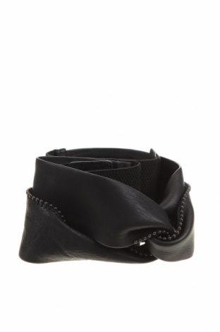Колан Tom Tailor, Цвят Черен, Естествена кожа, текстил, Цена 27,00лв.