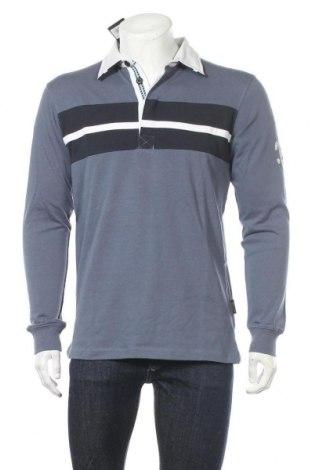 Мъжка блуза Abacus, Размер M, Цвят Син, Памук, Цена 72,45лв.