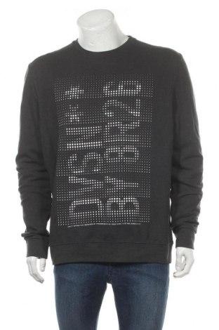 Мъжка блуза Angelo Litrico, Размер XL, Цвят Сив, 80% памук, 20% полиестер, Цена 17,01лв.