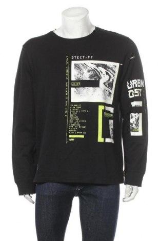 Мъжка блуза Angelo Litrico, Размер XL, Цвят Черен, Памук, Цена 20,95лв.