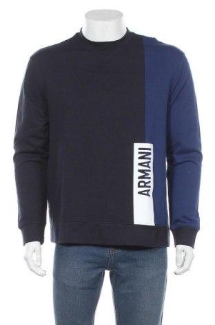 Мъжка блуза Armani Exchange, Размер M, Цвят Син, 88% памук, 12% полиестер, Цена 111,30лв.