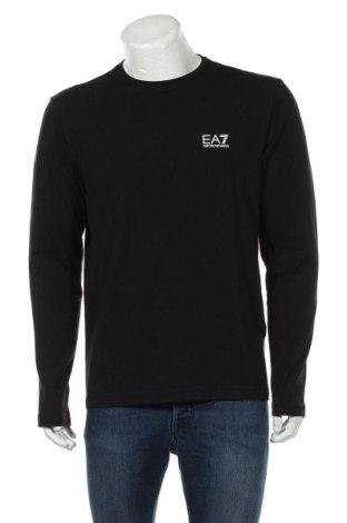 Мъжка блуза Emporio Armani, Размер XL, Цвят Черен, 95% памук, 5% еластан, Цена 103,05лв.