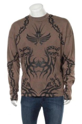 Мъжка блуза Jaded London, Размер S, Цвят Кафяв, Памук, Цена 36,75лв.