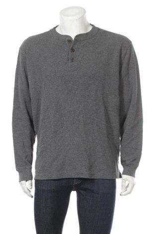 Мъжка блуза L.L. Bean, Размер XL, Цвят Сив, Памук, Цена 13,39лв.