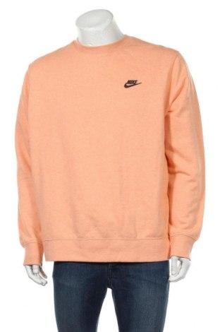 Ανδρική μπλούζα Nike, Μέγεθος L, Χρώμα Πορτοκαλί, 80% βαμβάκι, 20% πολυεστέρας, Τιμή 27,34€
