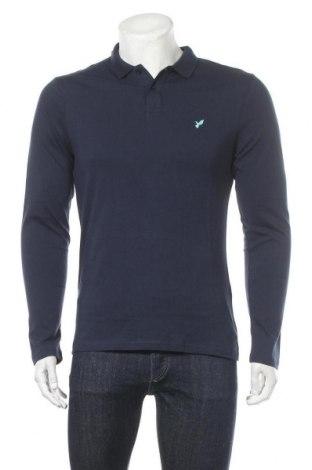 Мъжка блуза Pier One, Размер L, Цвят Син, Памук, Цена 16,80лв.