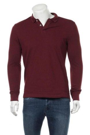 Мъжка блуза Pier One, Размер M, Цвят Червен, Памук, Цена 15,64лв.