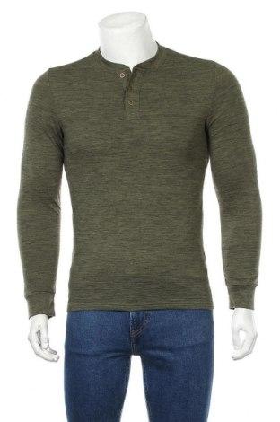 Мъжка блуза Primark, Размер S, Цвят Зелен, Цена 17,96лв.