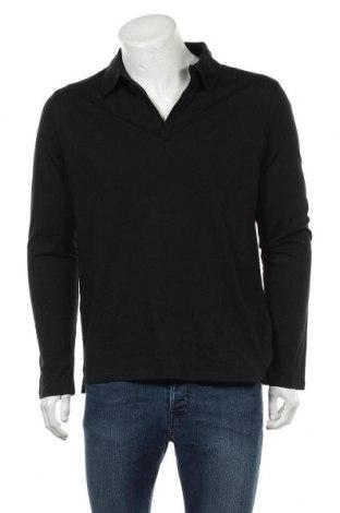 Мъжка блуза Tiger Of Sweden, Размер M, Цвят Черен, Памук, Цена 32,25лв.