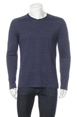 Мъжка блуза Tom Tailor, Размер L, Цвят Син, 55% памук, 45% полиестер, Цена 27,93лв.