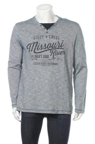 Мъжка блуза Tom Tailor, Размер XL, Цвят Син, Памук, Цена 28,35лв.